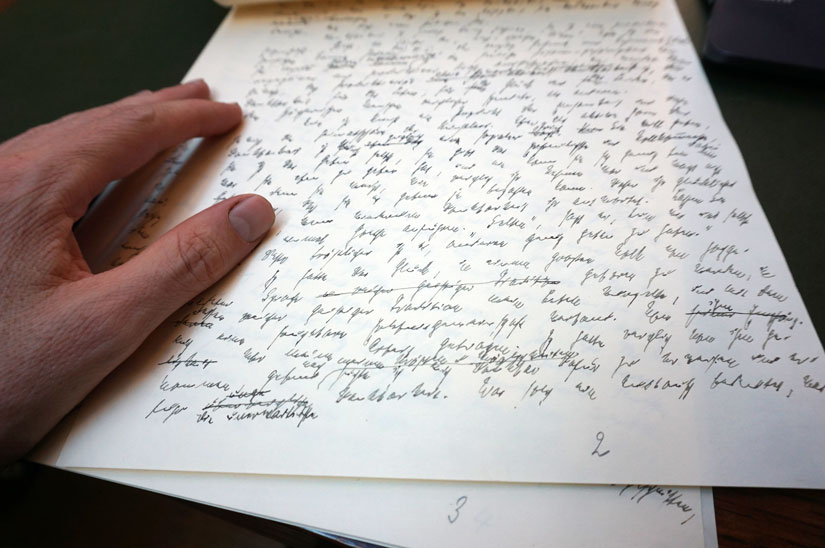 Manuskript Thomas Mann